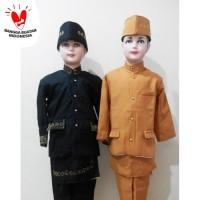 Baju Beskap Adat Sunda Anak Laki - Laki