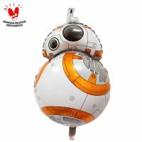 Balon Foil Star Wars BB-8 Size 80 cm