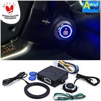 Alarm Mobil Canggih dengan Push Start Stop Button + RFID Lock Remote