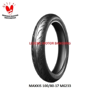 Maxxis 100/80-17 M6233 Ban Tubeless Motor Sport