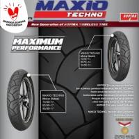 Ban Tubeless Motor Matic Matik Aspira Maxio Techno 80/90-14 + PENTIL