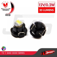 Lampu LED Mobil Motor / Speedometer / Dashboard T3 1 SMD 5050 - Red