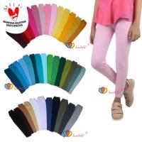Legging Polos uk 8-12 Tahun / Celana Anak Panjang Perempuan Leging