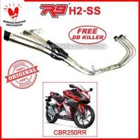 Original R9 H2 SS CBR250RR Knalpot Racing CBR 250 RR 250RR CBR250 Ori