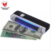 Money detector alat tes uang palsu ultraviolet UV portable