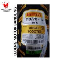 Pirelli 110/70-12 Angel Scooter Ban Tubeless Motor Vespa Ring 12