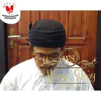 Iket Sunda Premium Candra Sumirat Hitam - Blangkon Sunda