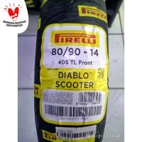 Ban Pirelli Diablo Scooter Uk 80/90 ring 14