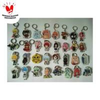 Gantungan kunci (GANCI) ANIME Akrilik CUSTOM (Gambar Bebas)