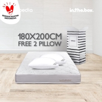KASUR SPRING BED IN THE BOX inthebox King size 180x200