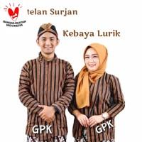 Surjan Kebaya Lurik Sarimbit / Baju Lurik Couple Dewasa