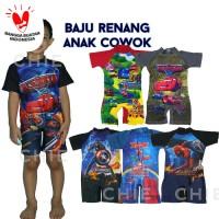 BAJU RENANG ANAK COWOK/LAKI LAKI TK - SD
