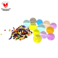Hidrogel / Waterbeads 12 Warna