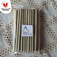 Sedotan Bambu 50 pcs