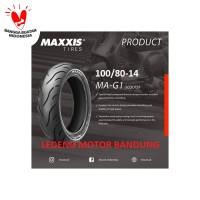 Maxxis 100/80-14 MAGI Ban Tubeless Motor Matic Matik MA GI