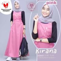 Baju Terusan Anak Perempuan/Remaja Longdress Kirana Set LTS