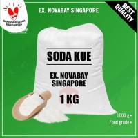 Baking Soda / Soda Kue / Sodium Bicarbonate (1 kg)