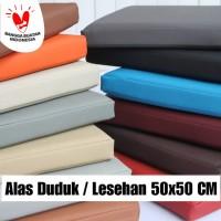Matras Bantal Alas Duduk / Lesehan / Meditasi / Doa Cushion 50x50x4 cm