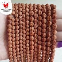 Rudraksa / Genitri Bead 8mm | Bahan Aksesoris Gelang Kalung Handmade