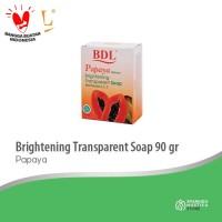 BDL Transparent Soap Papaya 90gr [1 Pc]
