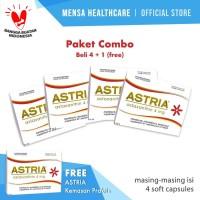 ASTRIA Kemasan Praktis - Paket Combo: Beli 4 + 1 (free)