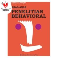 Asas-Asas Penelitian Behavioral