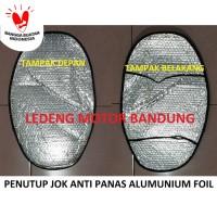 Penutup Jok Anti Panas Aluminuim Foil Cover Tutup Tempat Duduk Motor