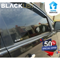 Kaca Film Mobil, BLACKLIST Window Film (Full) + Garansi + Pasang !!