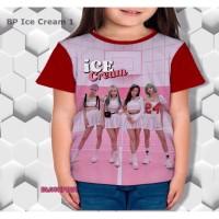 BLACKPINK Tee Kaos Anak Perempuan Kpop Shirt - 4167 PSP