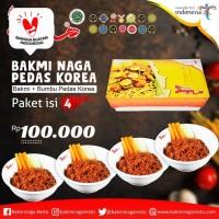 Bakmi Naga Pedas Korea (Paket isi 4)