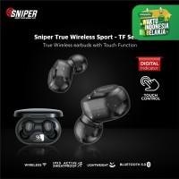 SNIPER TWS TF-SERIES BLUETOOTH EARPHONE WIRELESS 5.0
