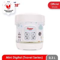 Cosmos CRJ-1031 - Mini Portable Digital Rice Cooker 0.3 L