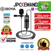 Boya BY M1 Clip-On Microphone for DSLR Smartphone Camcorders ORIGINAL