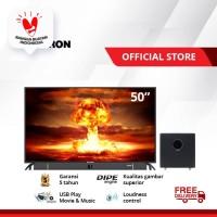 POLYTRON Cinemax Soundbar LED TV 50 inch PLD 50B870 /W