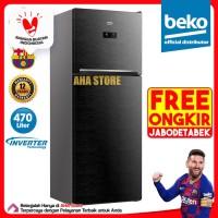 Beko Kulkas 2 Pintu Inverter 470 Liter RDNT470E50VZWB (FREE ONGKIR)
