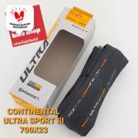 Ban Luar CONTINENTAL Ultra Sport III 3 700x23 Performance Pure Grip Fo