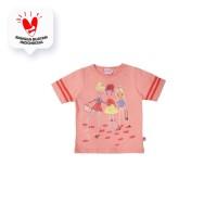Tshirt / Kaos Anak Perempuan / Rodeo Junior Girl 3 Little Girls O