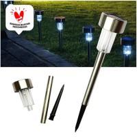 LAMPU TAMAN TANCAP LED SOLAR TENAGA MATAHARI GARDEN LAMP SOLAR POWER