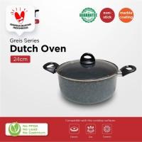 Esier Greis Dutch Oven 24cm - Lapis Marble