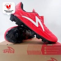 Sepatu Bola Specs Tycon FG Emperor Red White 101371 Original BNIB