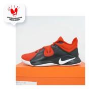 Sepatu Basket Nike Flyby Mid Black Red CD0189-600 Original BNIB