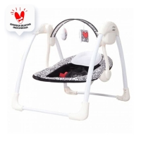 COCOLATTE KEITH HARING COMFY ELECTRIC SWING 6200 - Black White
