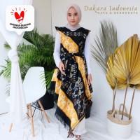 Dress Etnik Sabriina Tenun Ikat - Dakara Indonesia