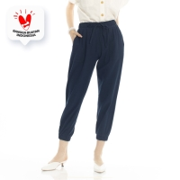 Active Pants Beatrice Clothing - Celana Bahan Wanita - Navy