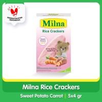 Milna Rice Crackers Sweet Potato Carrot 5x4gr