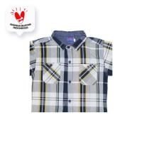 Shirt / Kemeja Anak Laki-laki Navy / Rodeo Junior Boy Bicycle