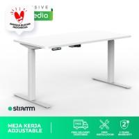 Meja Kerja Height Adjustable Desk Stramm Alfonso SF