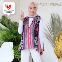 Outer Mairin Ethnic Tenun Ikat - Dakara Indonesia