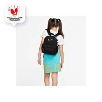 Tas Ransel Nike Brasilia JDI Mini Backpack Black White BA5559-013 Ori