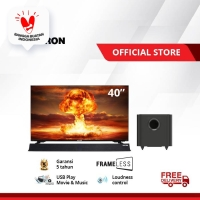 "POLYTRON Cinemax Soundbar Frameless LED TV 40"" PLD 40B8951"